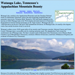 Watauga Lake Destination Website